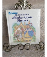 My Little Book of Mother Goose Rhymes Childrens Board Book - $8.29