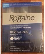 Men's Rogaine Foam 5% Minoxidil Topical Aerosol Hair Regrowth Treatment ... - $59.99