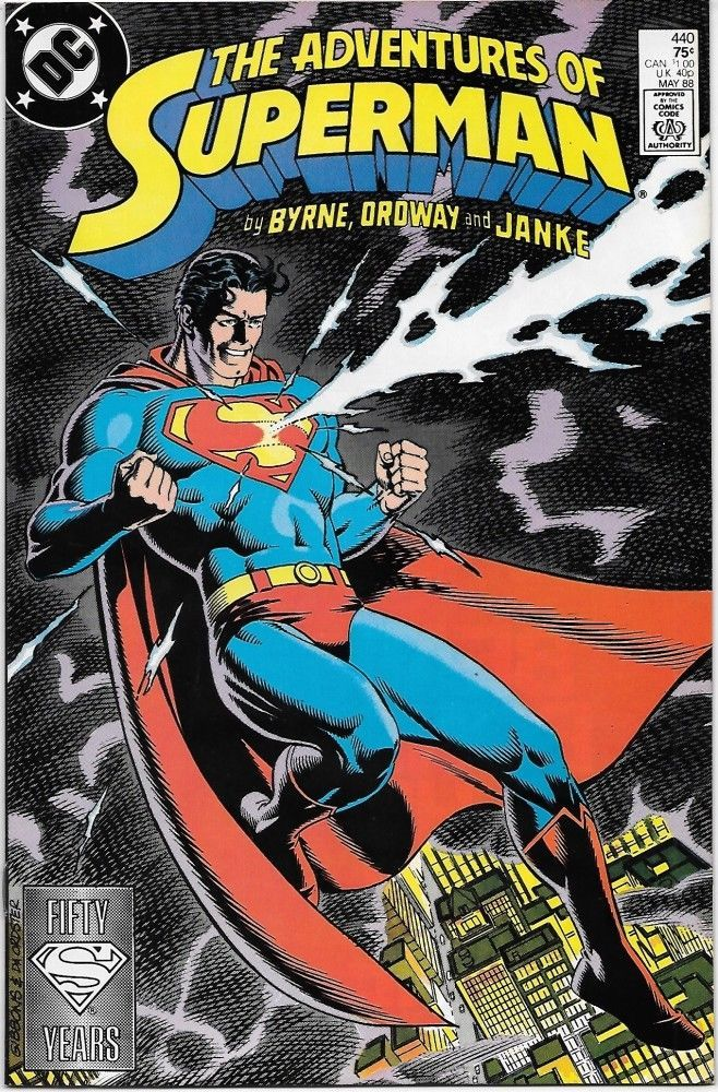 Primary image for The Adventures of Superman Comic Book #440 DC Comics 1988 NEAR MINT UNREAD
