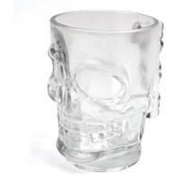 Skull Stein Glass Clear - $12.98