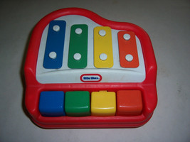 Little Tikes Tap A Tune Red Baby Piano & Xylophone - $5.00