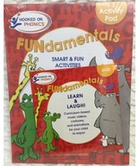 Hooked on Phonics Learn Fundamentals SMART & FUN Activity Pad 2009 - $21.77