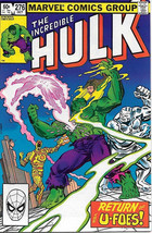 The Incredible Hulk Comic Book #276 Marvel 1982 NEAR MINT - $4.99