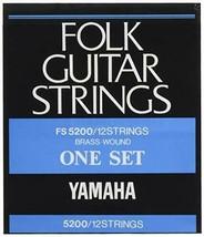 Yamaha YAMAHA 12-string folk guitar for the set string FS5200 - $45.59