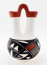 Small Acoma Wedding Vase Signed by N. Victorino - $61.38