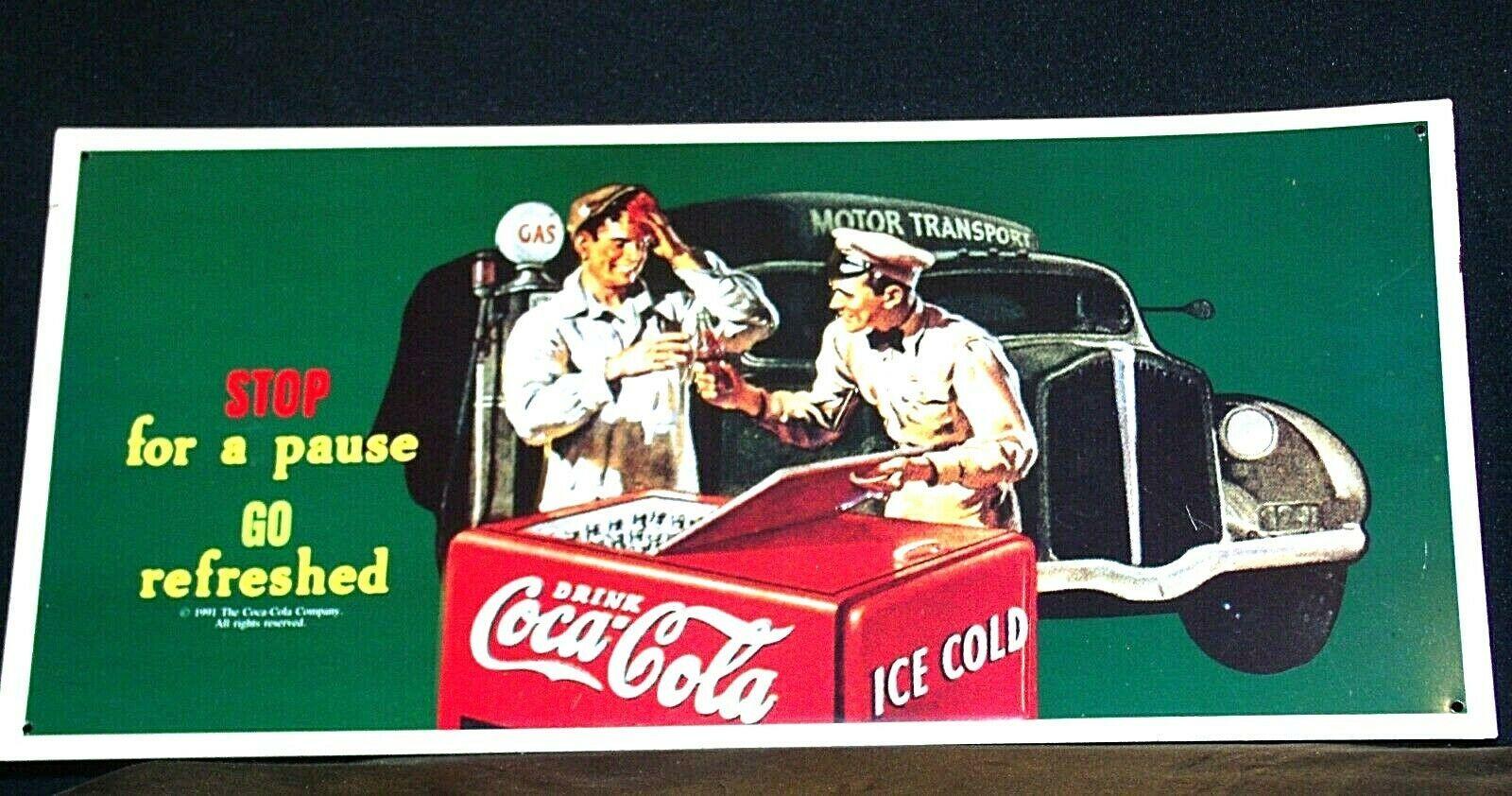 Coca-Cola Sign AA-191801 Collectible