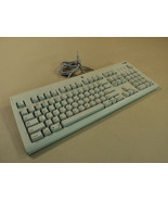 Apple Deluxe Computer Keyboard PS2 Macintosh Gray PS/2 Apple Design M2980 - $28.19
