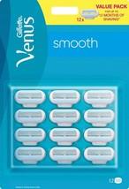 Gillette venus smooth rakblad 12 st 0 thumb200