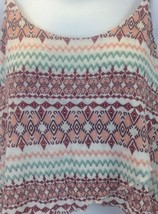 Express Multi-color High Low Top Cami Size Large image 2