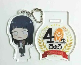 Naruto Acrylic Stand Keychain Figure Hinata Hyuga Pierrot 40th Masashi K... - $28.21