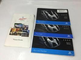 2005 Honda Accord Operator Owners Manual User Guide W367A 985 - $29.39