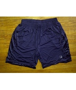 And1 And 1 One Polyester Mesh Dark Navy Blue Pockets Basketball Shorts 3... - $14.99