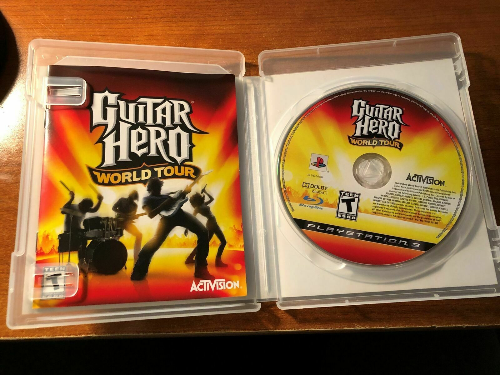Primary image for PS3 Guitar Hero World Tour Game Playstation 3 2008 with Case & Manual