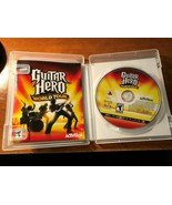 PS3 Guitar Hero World Tour Game Playstation 3 2008 with Case & Manual - $9.41