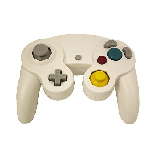 Nintendo GameCube & Wii Replacement Controller White By Mars Devices