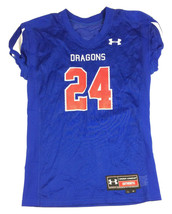 New Under Armour Dragons Football Mesh Training Jersey Youth Large Royal... - $13.26