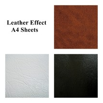 Leather Effect A4 Sheets Self Adhesive Sticky Back Vinyl Craft Faux DC FIX - $4.12