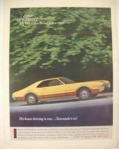 1966 OLDSMOBILE TORONADO PRINT AD - $9.99