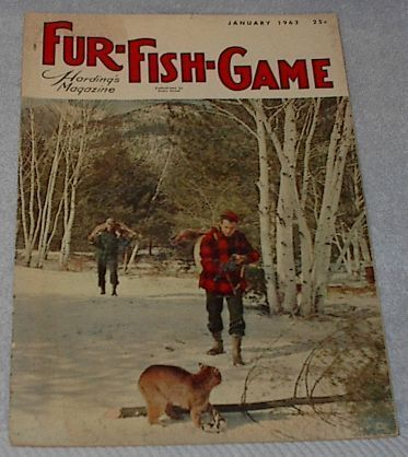 Vintage Fur Fish and Game Magazine January 1963