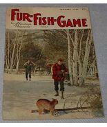 Vintage Fur Fish and Game Magazine January 1963 - $5.00