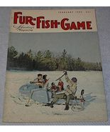 Vintage Fur Fish and Game Magazine February 1965 - $6.95