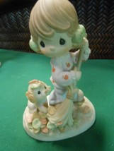"PRECIOUS MOMENTS Figure-..""I Will Never Leaf You""...........FREE POSTAGE... - $21.37"