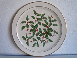 Lenox Holiday Dimension Chop Plate Round Platter - $45.04