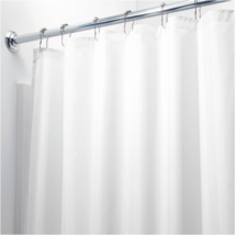 InterDesign Waterproof Mold and Mildew-Resistant Fabric Shower Curtain, 72-Inch - $13.15+