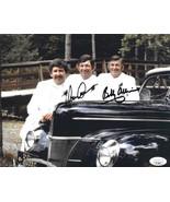 Bobby Allison & Donnie Allison dual signed NASCAR 8x10 Photo- JSA #II11662 - $58.95