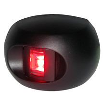 Aqua Signal Series 33 Port LED Side Mount Light - Black Housing [33302-7] - $52.65