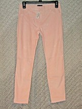 The Children's Place Girl's Pink Velvet Jeggings Size 12 Stretch Pants Leggings - $13.86