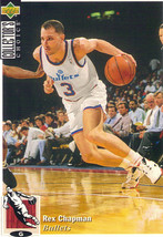 1994-1995 Upper Deck Collector's Choice Card Rex Chapman #359 Washington... - $1.97