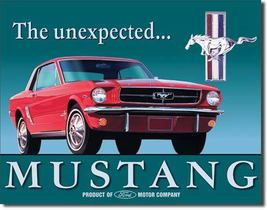 Mustang by Ford on a new Tin Metal Sign - $25.00