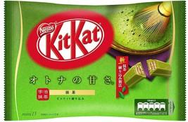 Japanese Kitkat Kit Kat Nestle Green Tea 13 Mini Bars s0200 Japan Matcha... - $13.97