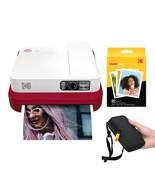 KODAK Smile Classic Digital Instant Camera with Bluetooth (Red) Starter Kit - £196.49 GBP