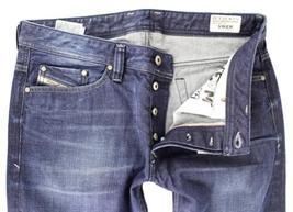 NEW DIESEL MEN'S PREMIUM DESIGNER DENIM REGULAR STRAIGHT LEG JEANS VIKER 0802D image 3