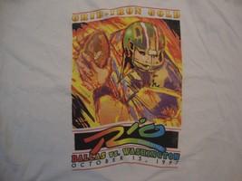 Vintage Rio Vegas Style Football Dallas VS. Washington 1997 T Shirt Size XL - $15.83
