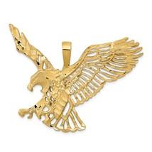 14K Yellow Gold Large Eagle Pendant - $689.99