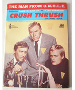 Man From Uncle Crush Thrush Coloring Book 1965 Watkins Strathmore - $29.99