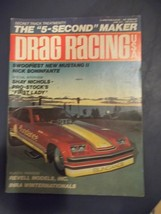 "Vintage June 1975 Issue Of DRAG RACING Magazine The ""5-Second"" Maker - $17.81"