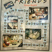 FRIENDS Trivia Game 2002 Board Replace wall hang Central Perk Ross Rache... - $19.95