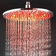12 Inch Chromed Brass LED Rain Shower Head (0913 -8109) - $226.71