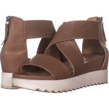STEVEN natural comfort Steve Madden Klein Platform Sandals, Tan Leather 958, Tan - $26.20