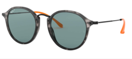Ray ban Gafas de Sol Redondas RB2447 124652 52 Gris Carey Azul Polarizado - $99.34