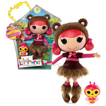 "NEW HOT Lalaloopsy 12"" Tall Button Rag Doll Teddy Honey Pots+ Pet Bee RARE - $87.99"