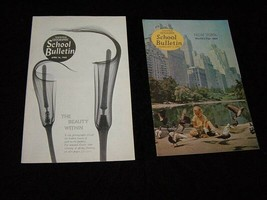National Geographic School Bulletin Lot 1964 New York World's Fair Seatt... - $19.99