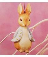 Hallmark 1996 Beatrix Potter #1 The Tales of Peter Rabbit Spring Ornament - $24.95