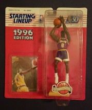 Kobe Bryant 1996 Kenner Starting Lineup Extended Figure w/ Skybox Rookie Card - $420.39