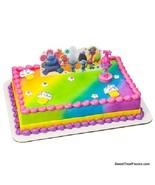 Trolls Poppy Party CAKE Topper Decoration Birthday True Colors Cupcake K... - $9.85