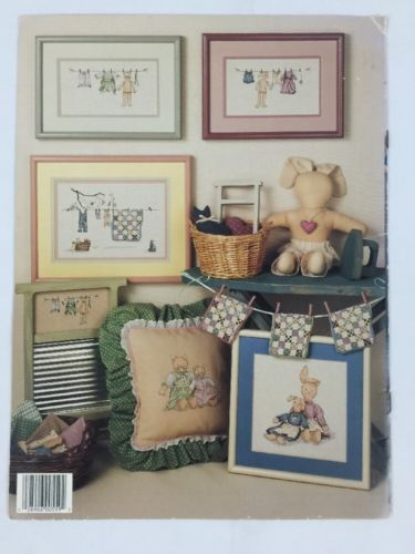 Lot of 4 Cross Stitch Book & Instructions Assorted Design Patterns